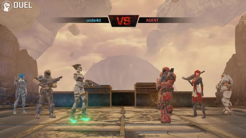 Unde4d vs agent - fun game dm6 - ruins