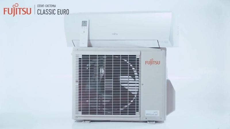 Обзор сплит-системы Fujitsu Classic EURO (LLCD)