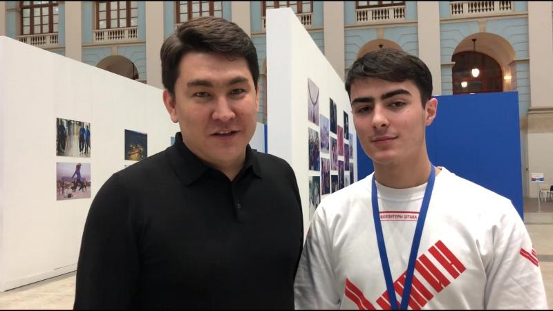 Обращение к волонтёрам Путина от Азамата Мусагалиева