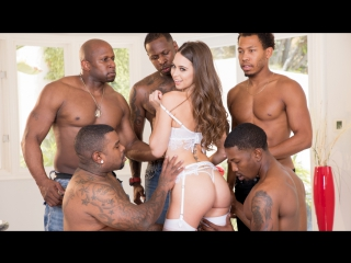 Riley Reid interracial anal gangbang and DAP