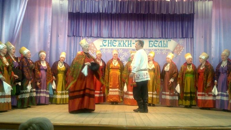 Вспомним недавний фестиваль и прекрасное выступление Лешуконского хора.