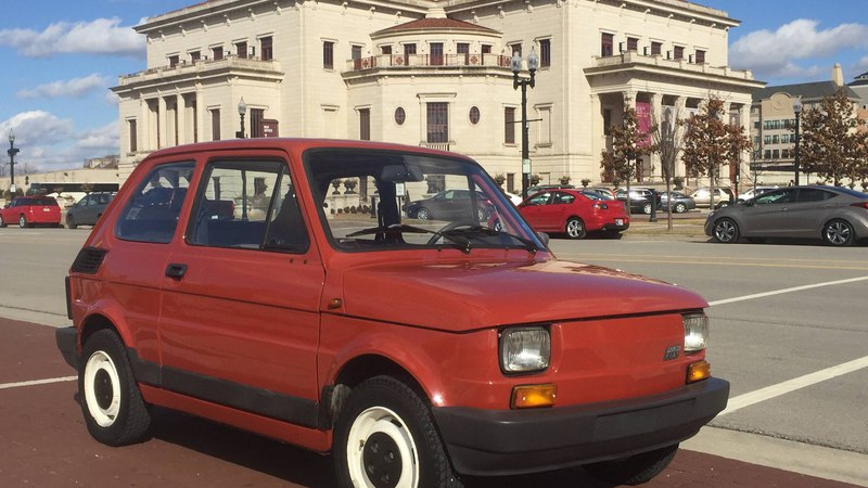 Fiat 126p in USA Episode 1 First Impressions After Purchase