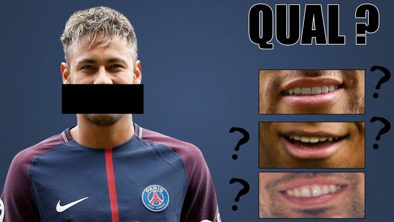 Quiz de Futebol - Consegue adivinhar qual a boca certa do jogador ?