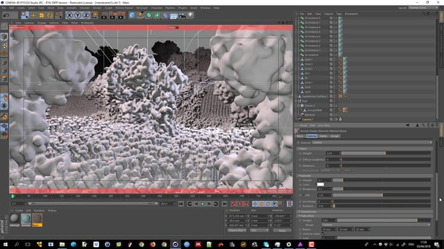 Making of Membrane part 2 shaders, lighting and rendering