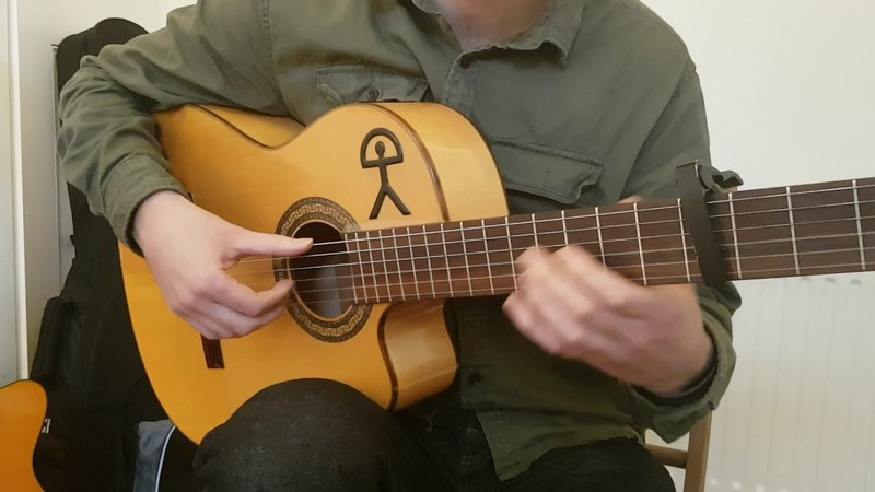 Alegrías Arpeggio Falseta | Flamenco Guitar Lesson