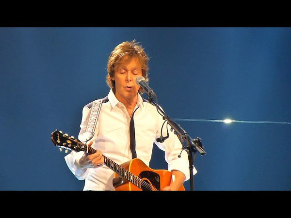 Yesterday - Paul McCartney @ Consol Energy Center, Jul 7, 2014 (live concert from The Beatles Help)