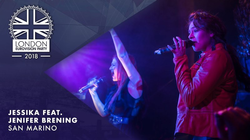 Jessika Jenifer Brening - Who We Are - SAN MARINO | LIVE | OFFICIAL | 2018 London Eurovision Party