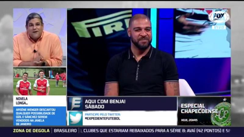 João Guilherme narra gol de Adriano na final da Libertadores de 2018 e derruba o Imperador veja