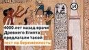 Тест на беременность в Древнем Египте
