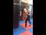 Женский бокс - персональная тренировка с Еленой Босс