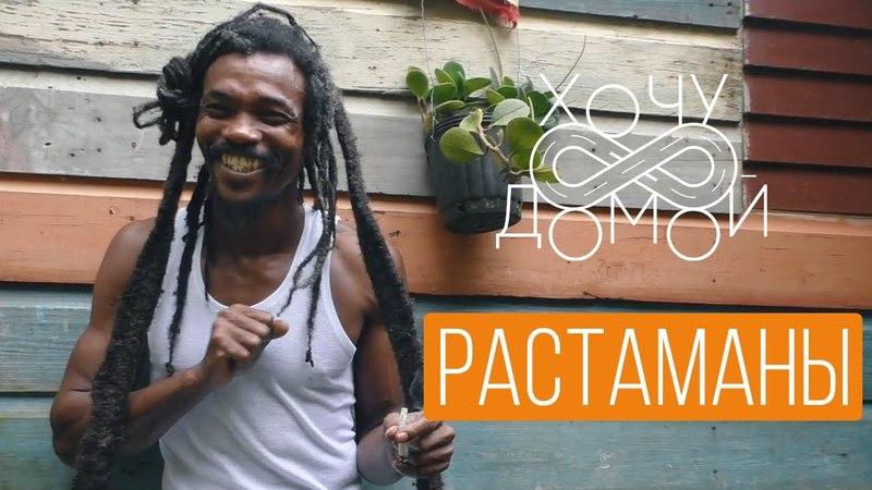 Хочу домой с Ямайки Деревня растаманов плантация марихуаны