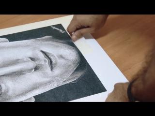 Портрет Генриха Мхитаряна из 4 миллионов точек