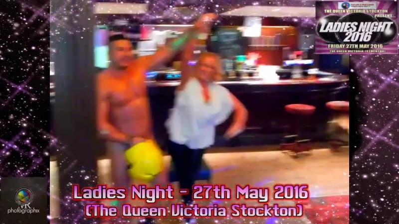 Male Stripper - Ladies Night Queen Victoria at Stockton 2016