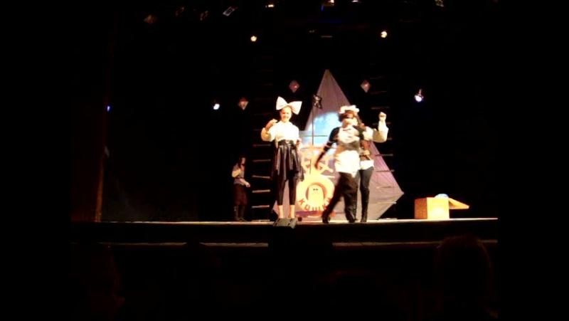 Дочь Алина , на сцене Шадринского драм. театра
