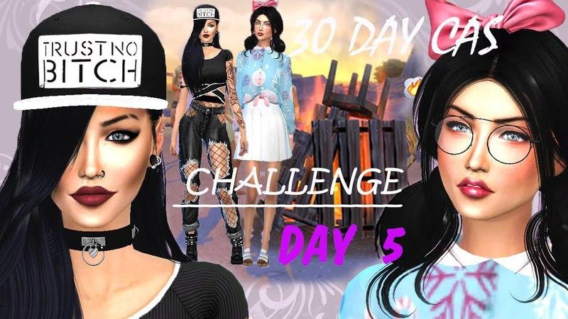 The sims 4/30 Day Cas Challenge/Day 5 - Близняшки » Freewka.com - Смотреть онлайн в хорощем качестве