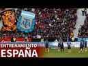 España-Argentina   Entrenamiento de La Roja en el Wanda Metropolitano   Diario AS