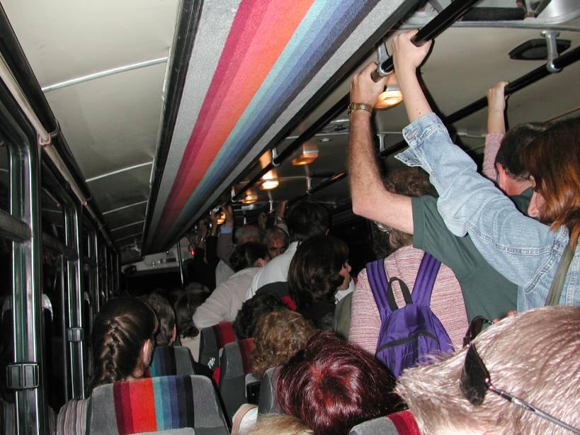Житель Краснодара устроил скандал в Ялте: где ремень безопасности автобусе?