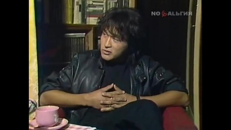 Виктор Цой интервью после фильма Игла 1988 год