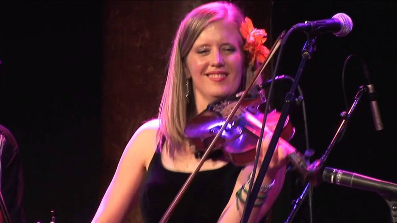 Lucia Comnes Band plays 'The Sandy Boys Set' at GAMH San Francisco