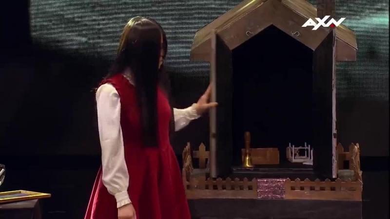 Пугающее выступление девочки на шоу талантов в Азии