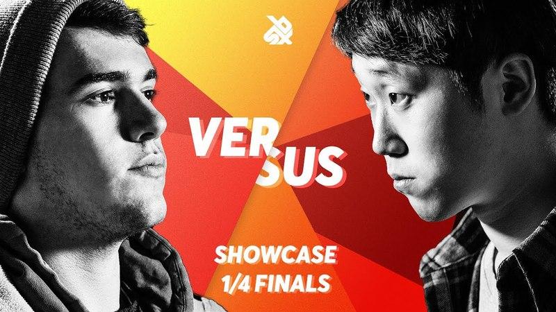 CODFISH vs H-HAS | Grand Beatbox SHOWCASE Battle 2018 | 1/4 Final