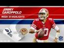 Jimmy Garoppolo Highlights - Titans vs. 49ers - NFL Wk 15 Player Highlights