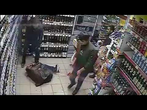 Нападение мужчины с битой на парня, в которого он ранее стрелял из травмата