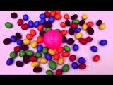 Учим Цвета с Детской песней и Конфетами Learn colors with M&M's & Nursery Rhymes Songs.mp4