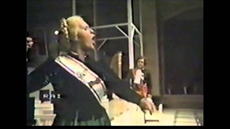 IL VIAGGIO A REIMS (Pesaro 1984) - No. 8 Duetto di Melibea e del Conte di Libenskof