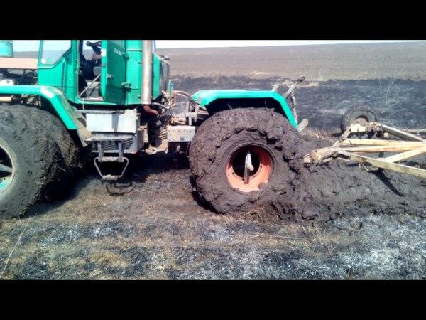 слобожанец хта-200 по грязи