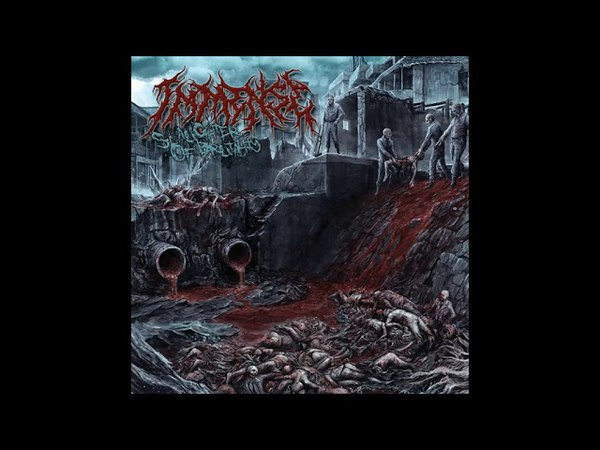Immense Slaughter Of Brutality Full Album 2018