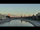 Stock-footage-view-of-the-moscow-kremlin-by-a-sunny-morning-moscow-river-and-moscow-transport 2