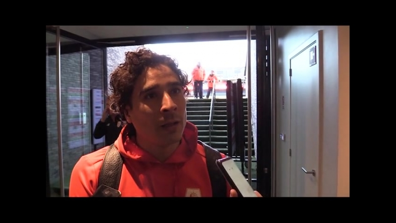 """Guillermo Ochoa après Ostende Standard La mentalité est la force principale de l'équipe"""""""