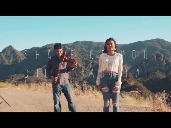 Vidya vox latest song shape of you -cheer badi hai mashup