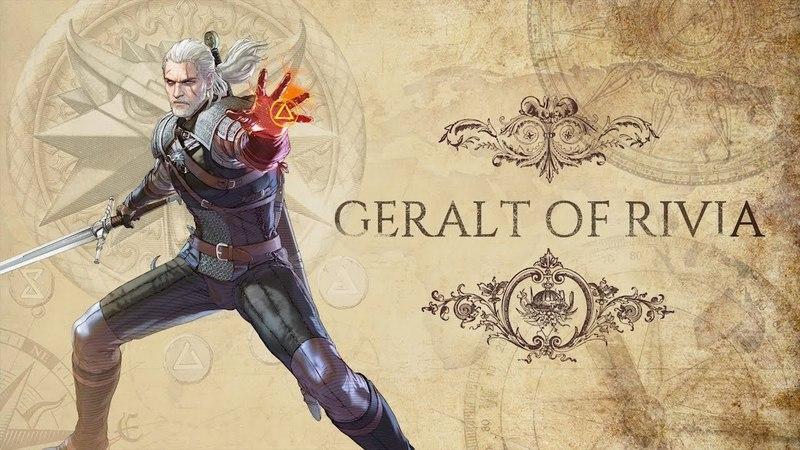 SOULCALIBUR VI - Geralt of Rivia Character Introduction   PS4, X1, PC
