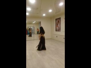 мое выступление на ДР танцевальной студии