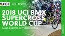 2018 UCI BMX SX World Cup - SQY FRA / Men Round 2