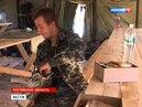 Для украинских военных в России разбили палаточный городок