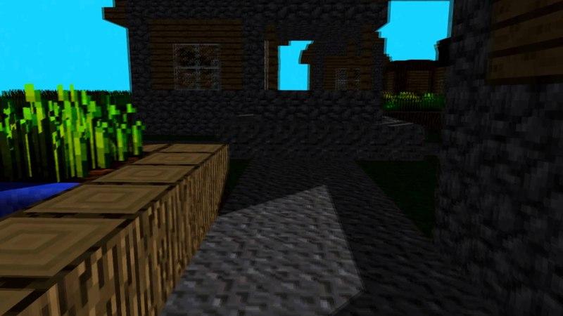 Minecraft animation - DNIWE men!