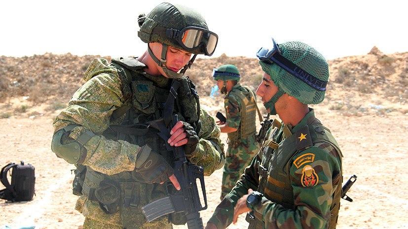 Россия расширяет географию военных учений