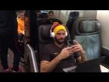 Команда отправилась в Неаполь