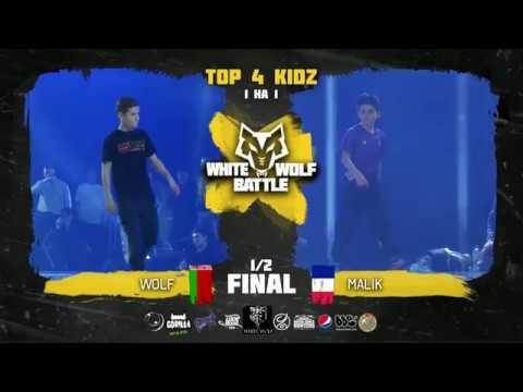 Wolf VS Malik ✘ KIDZ 1/2 final ✘ White Wolf Battle 2018