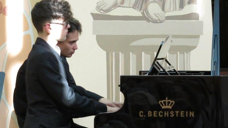 Вебер, Приглашение к Танцу 24.08.2014 Рамез Мханна Павел Коновалов, фортепиано в четыре руки
