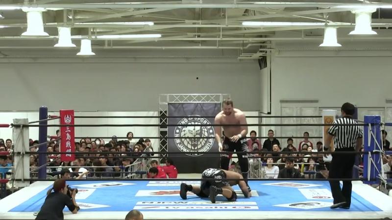 [My1] Ворлд Тэг. Блок А - Bad Luck Fale Chase Owens vs. Hangman Page Yujiro Takahashi