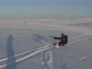 Первый сноукайтер в тундре - сезон 2005/2006