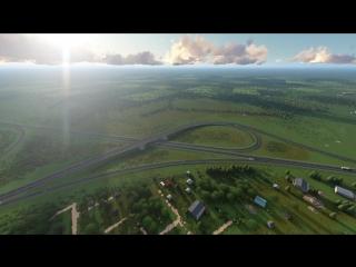 Обход Вологды на трассе М-8