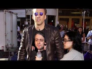 Meet The Man Inside The Nicolas Cage Costume