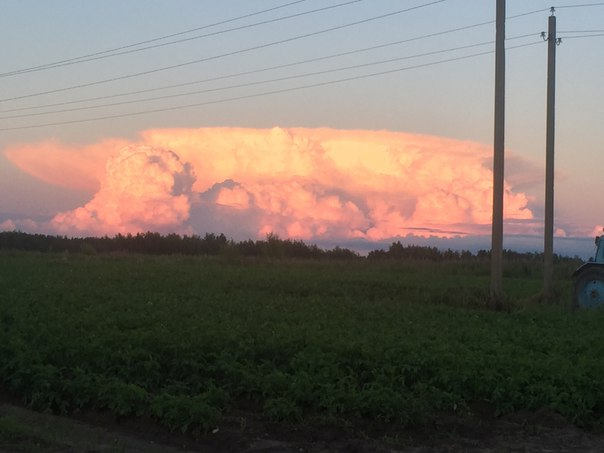 Какое красивое облако)