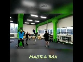 кроссфит в клубе Мазила Тренировка групповая 27.10.17