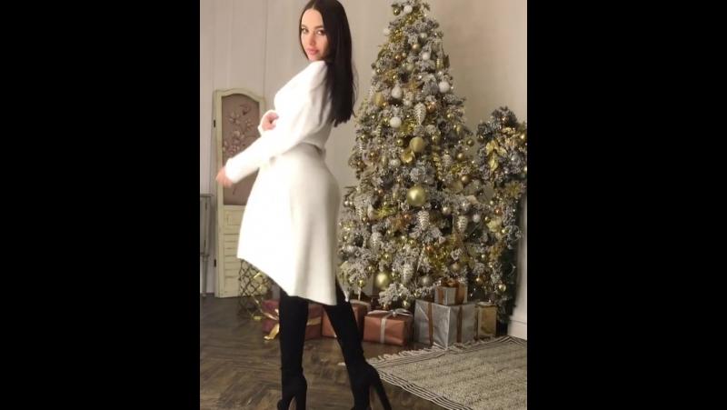 ✨Очень классное тёплое и приятное к телу платье туника свободного кроя с шерстью и мохером☺️🕊 можно носить с поясом и черными б